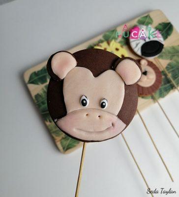 Maymun Tasarım Kurabiye