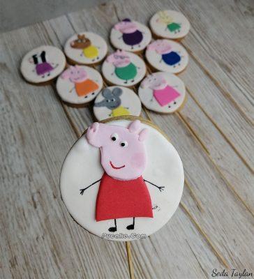Peppa Pig Konsept Kurabiye