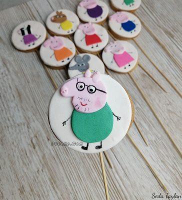 Peppa Pig Family Kurabiye