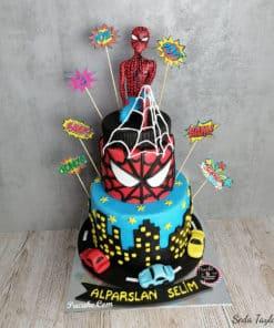 Spider-Man-Dogum-Gunu-Pastasi