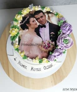 Evlilik Yıldönümü Pasta Ankara
