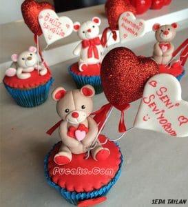 Pucake Figürlü Cupcake Çeşitleri