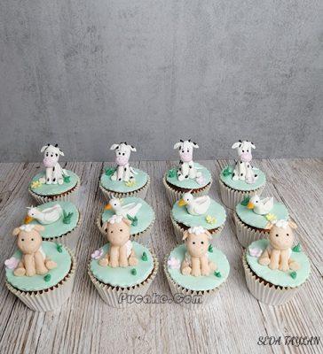 Figürlü Cupcake
