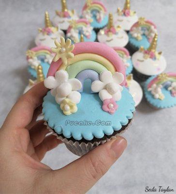 Unicorn Cupcake Pasta Ankara